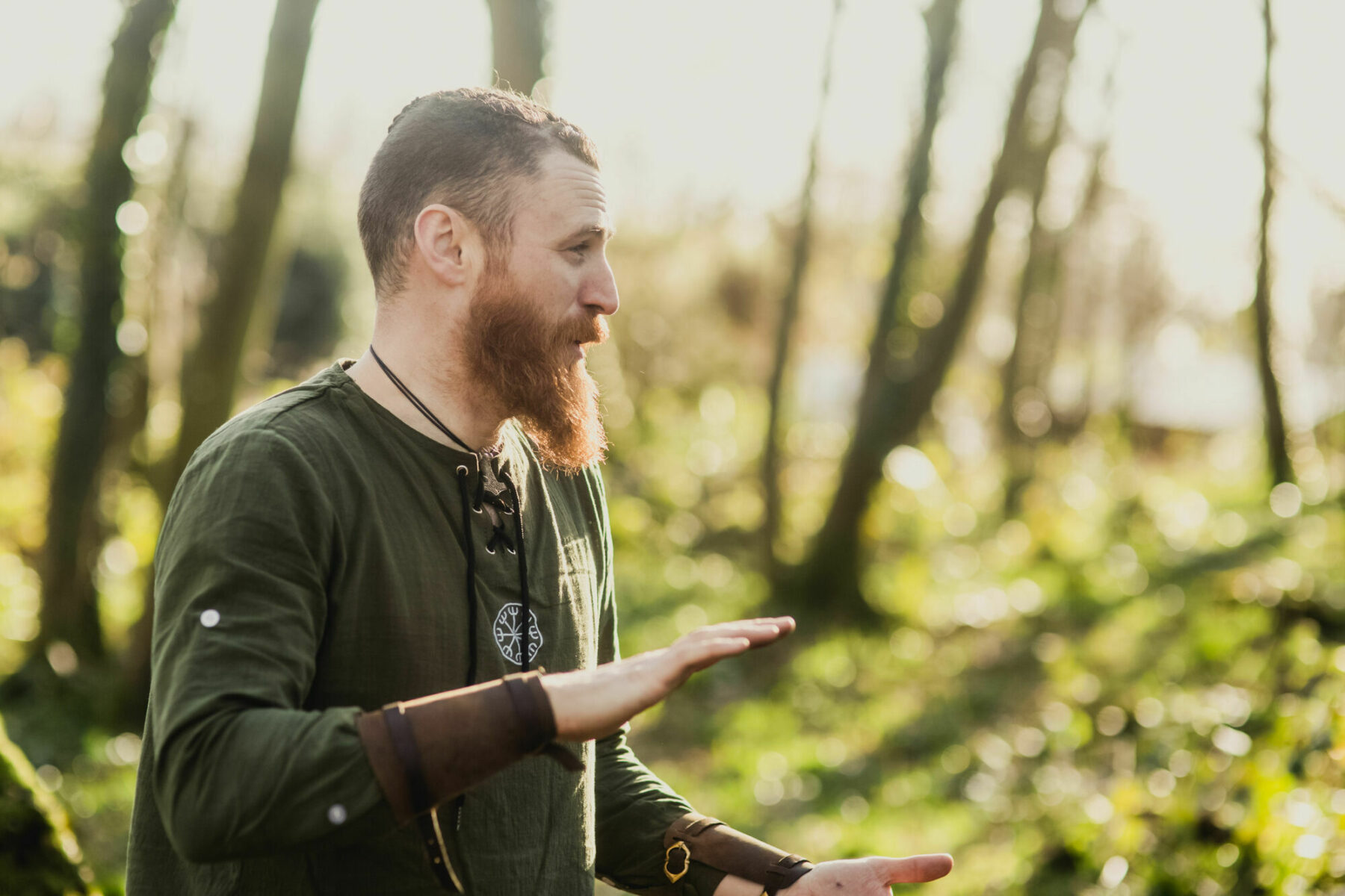 Learn survival skills with Bushman Rob at our new Finnebrogue Woods School of Bushcraft